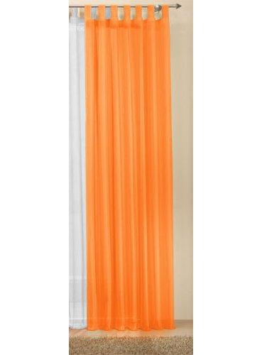 Transparente einfarbige Gardine aus Voile, viele attraktive Farben, 61000
