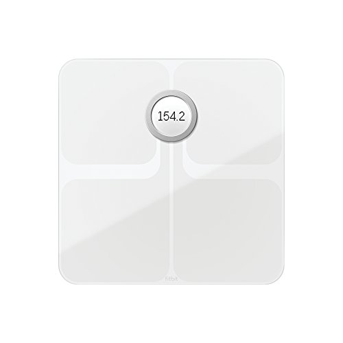 Fitbit Aria 2 Intelligente Wlan-Waage, White, Onesize