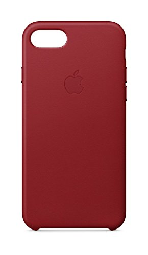 Apple Leder Case (iPhone 8 / iPhone 7) - Rot