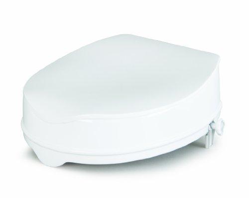 Savanah Toilettensitzerhöhung 15cm mit Deckel