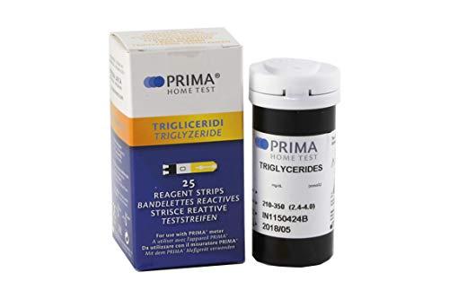 Prima 3in1 Teststreifen Triglyceride 25 Stück