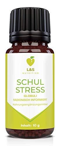 Schulstress Globuli   Beruhigung   Angst   Stress   Konzentration   Burnout   radionisch informiert   für Kinder   10g