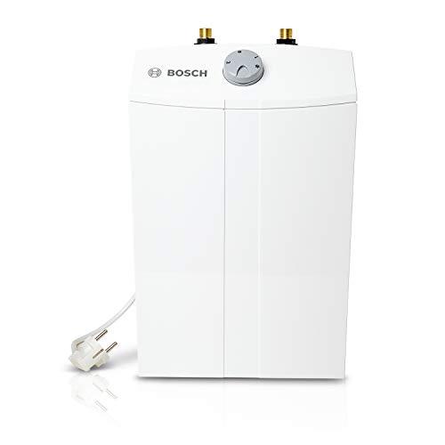 Bosch elektrischer Kleinspeicher Tronic Store Compact, steckerfertiger Untertischspeicher, drucklos zur Versorgung einer Zapfstelle, Energieklasse A,  5 Liter