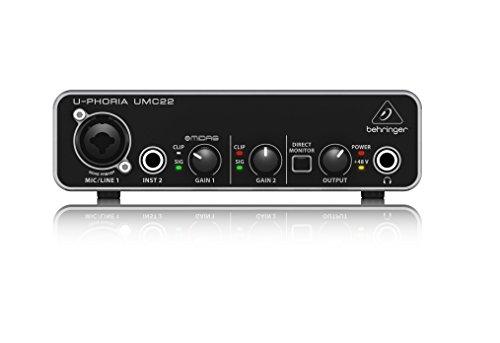 Behringer ZB791 UMC22 Audiophile 2x2 USB Audio Interface