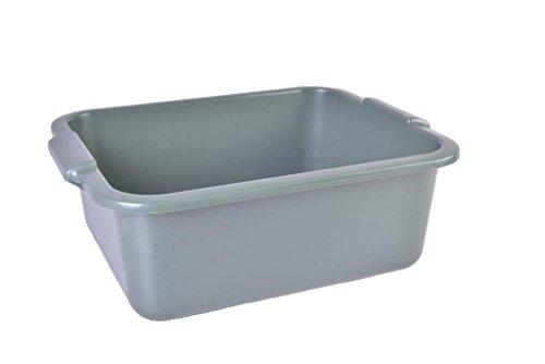 Schüssel 11 L Recycling mit Griff Allzweckschüssel Spülschüssel Plastikschüssel Fußwanne Wanne - Farben variieren - Farbverlauf möglich