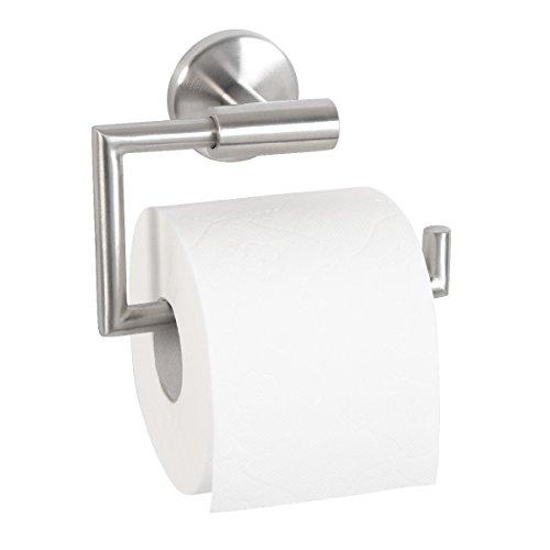 bremermann Bad-Serie PIAZZA – Toilettenpapierhalter aus mattem Edelstahl
