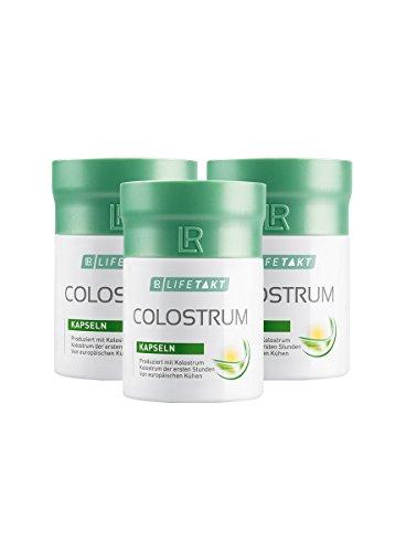 LR LIFETAKT Colostrum Kapseln Nahrungsergänzungsmittel (3x 60 Kapseln)