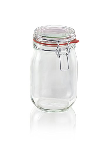 Leifheit 3193 Drahtbügelglas 1140 ml
