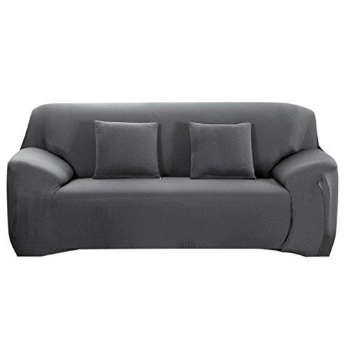 Souarts Sofabezug elastische Stretch Sofaüberwurf Sofa Couch Sessel Husse Bezug Decke Sofabezüge 1/2 / 3/19 Sitzer