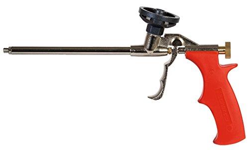 fischer Schaumpistole PUP M3 - Dosierpistole aus Metall für die schnelle und professionelle Verarbeitung von Einkomponentent-Montageschäumen (1K-PU-Schäume) - 1 Stück - Art.-Nr. 33208