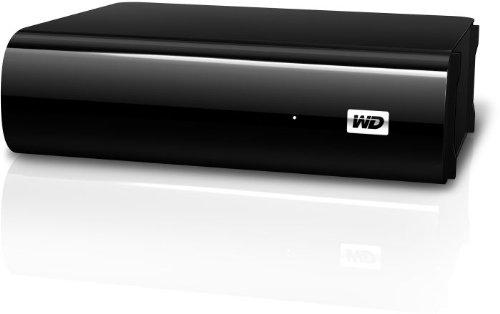 Western Digital 2TB My Book AV TV Externe Festplatte Desktop 3,5' USB3.0 und 2.0 für TV Aufnahmen, reibungslose AV-Wiedergabe, USB-Kabel – 2 m, Flexibles Design für liegende oder stehende Aufstellung