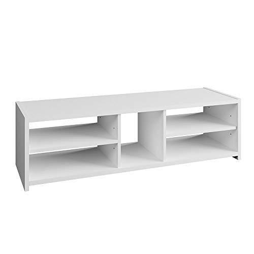 Vicco Lowboard Lando Fernsehschrank Weiß Sideboard TV Regal Fernsehtisch