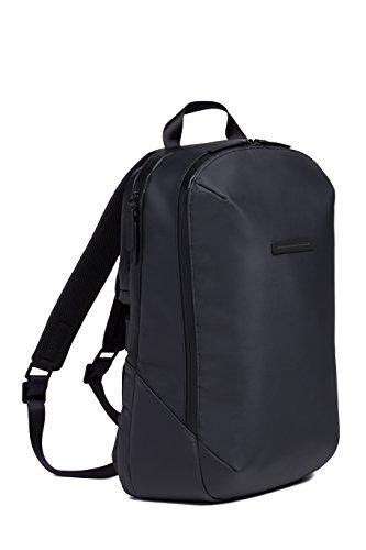 HORIZN STUDIOS Gion Backpack   Business Laptop Rucksack   Wasserabweisend   Schwarz (Black, M)
