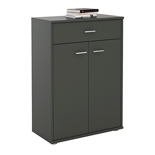 CARO-Möbel Kommode Sideboard Schrank Tommy, Anrichte Highboard mit Schublade und 2 Türen