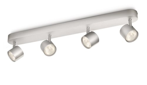Philips myLiving LED Spotbalken Star 4-flammig, aluminium