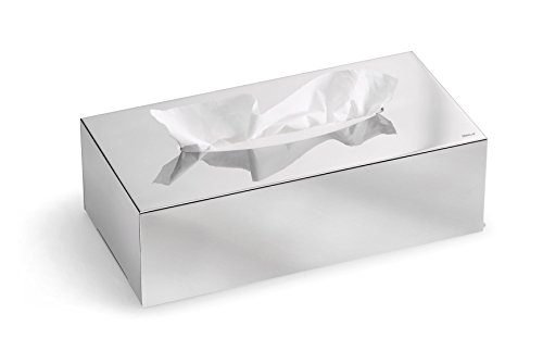 Blomus 66660 Kleenexbox Nexio, Edelstahl poliert