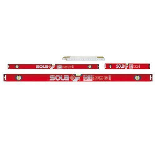 Sola BigX Set - Alu-Wasserwaage BigX 60 - BigX3 100 - BigX3 180
