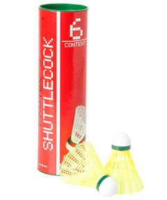 OLIVER  Badmintonball gelb-langsam  yellow-slow