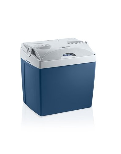MOBICOOL V26 AC/DC  -  elektrische Kühlbox, anschlussfertig für 12 und 230 Volt, Fassungsvermögen 25 Liter, Mini-Kühlschrank für Auto und Steckdose, A++