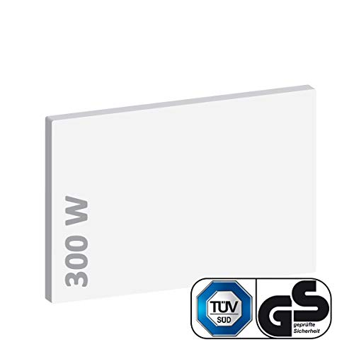 BRAST Infrarotheizung 300-1100 Watt TÜV/GS geprüft Made in Europe Rahmenlos Elektroheizung Thermostat BRE-ISP