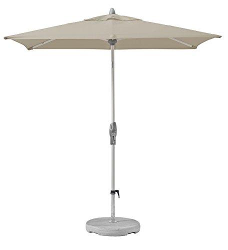 Suncomfort by Glatz Shell-Turn, off-grey, 250x200 cm rechteckig, Gestell Aluminium, Bespannung Polyester, 6 kg