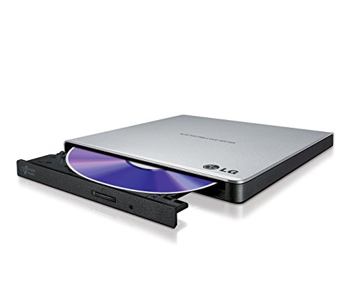 LG GP57ES40 8x8x8xDVD+RW 8x6DVD-RW 6xDVD+/- DL 5xDVD-RAM DVD-Brenner slim extern USB2.0 silber RTL