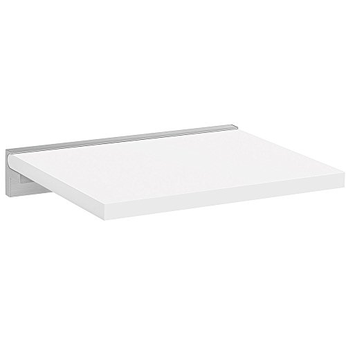Wandboard / Wandregal SUMO+CUBE | 45x40 cm - weiß/silber