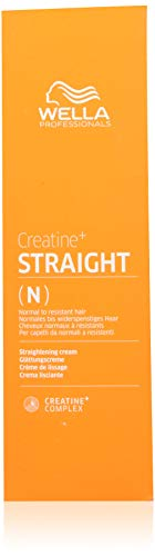 Wella Creatine+ Straight Glättende Creme für Normales bis widerspenstiges Haar, 200 ml