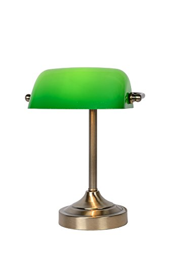 Lucide BANKER  - Schreibtischlampe  - Bronzefarbe03