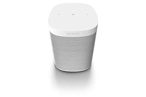 Sonos One SL All-In-One Smart Speaker, weiß - Kraftvoller WLAN Lautsprecher mit Touch Steuerung & AirPlay 2 - Multiroom Speaker für unbegrenztes Musikstreaming