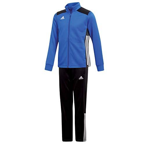 adidas Kinder Polyesteranzug Trainingsanzug Regista 18 BOBLUE/Black 128