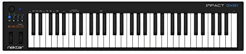 Nektar GX61 Impact MIDI Controller schwarz