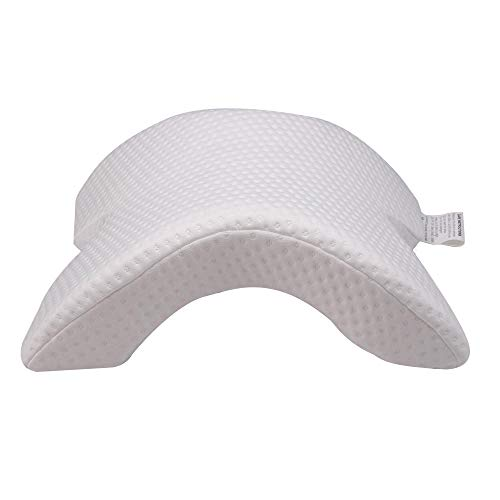 QFYD FDEYL Kissen Memory Foam Kissen, Contour Nackenstützkissen für Seitenschläfer, orthopädische Rückenschläferkissen mit waschbarem Bezug