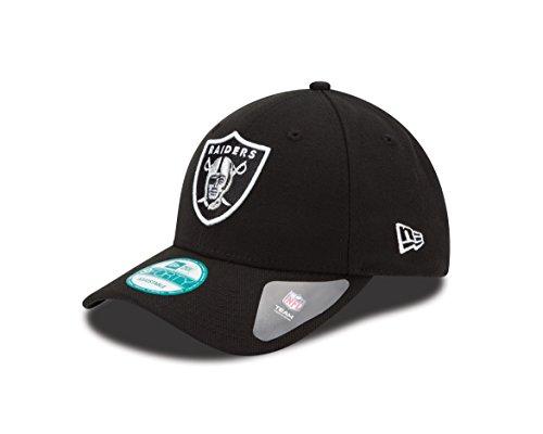 New Era Herren Baseball Cap the League 9Forty Oakland Raiders Offical Team Colour, Schwarz, One size