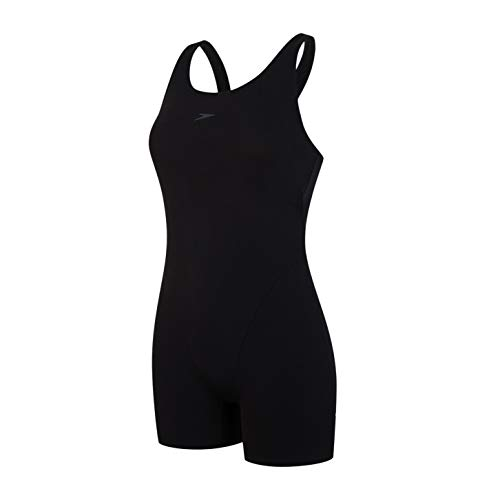 Speedo Damen Badeanzug Essential Endurance+, black, 44, 8-04276000144