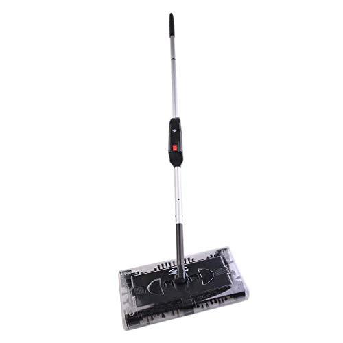 Akkusauger Staubsauger Besen Reinigung Elektrischer Swivel Sweeper Akkubesen kabellos Ellenbogengelenk Aufladbar