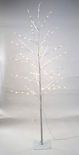 DARO DEKO Lichterbaum 160 LED warm weiß