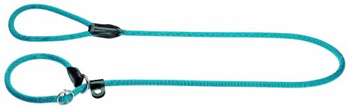 Hunter 47871 Retriever-Leine Freestyle, petrol, 10 mm breit, 170 cm lang