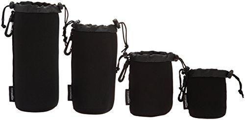 AmazonBasics - Wasserdichte Schutzbeutel für Kamerobjektiv