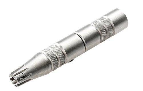 Remos Nasenhaarschneider aus rostfreiem Edelstahl ohne Batterien betrieben