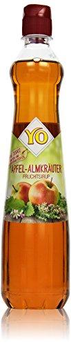Yo Sirup Apfel-Almkräuter, 700 ml