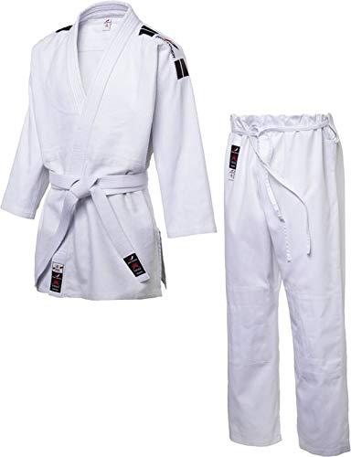 Pro Touch Herren Katame Judoanzug, Weiß, 180