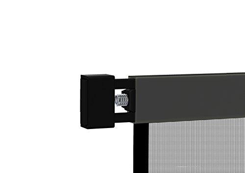 Klemm-Lamellenvorhang 'COMFORT' Fliegengitter Insektenschutzvorhang - 100 x 220 cm