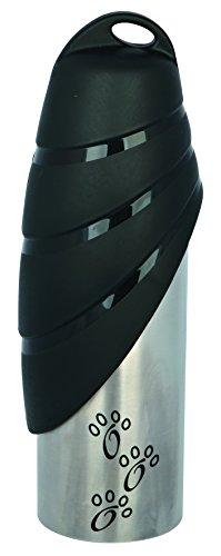 Trixie 24606 Flasche mit Trinknapf, Edelstahl/Kunststoff, 750 ml, Sortiert