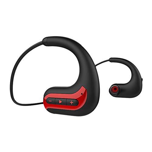 PIONIN Mp3-player Schwimmen IPX8 wasserdichte Drahtlose Bluetooth 8G Speicher Stereo Headset Kopf Montiert Sport Schwimmen Ohrhörer Ohr Montiert Lauf Kopfhörer mit Karte