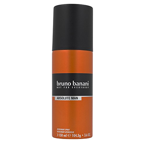 bruno banani Absolute Man Deodorant Spray, 1er Pack (1 x 150 ml)