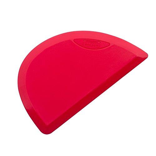 Kaiser Inspiration Teigspachtel Teigschaber, 100% Silikon, ideales Herauslösen oberflächenschonend, spülmaschinengeeignet, 15x 9x 0,5 cm