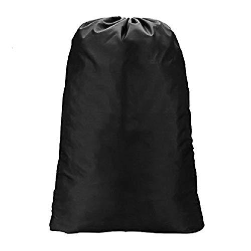 Extra große Wäschesack mit Kordelzug für die Apartments, Reisen, Mehrbettzimmer oder Vacations von meowoo (Schwarz)