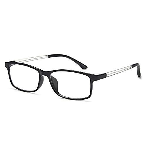 VVDQELLA Lesebrille 2,0 Blau Licht blockierende Computer Brille Vintage TR90 Unisex Männer Frauen für UV-Anti-Eye Fatigue