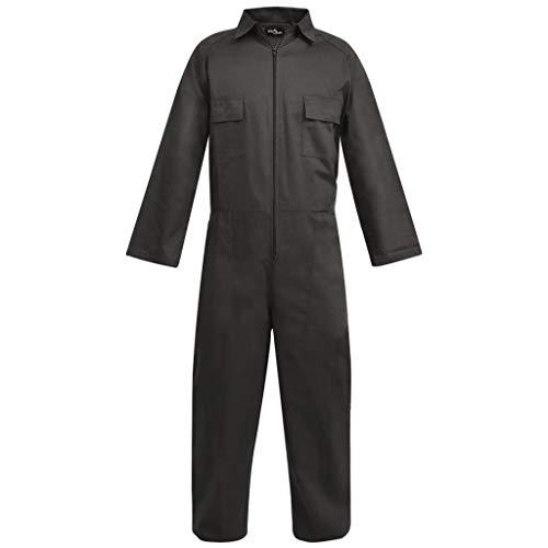 Vislone Herren Arbeitsoverall Arbeitskleidung Größe M Grau